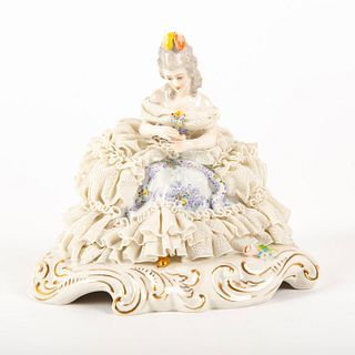 San Marco Figurine, Lady With Flowers