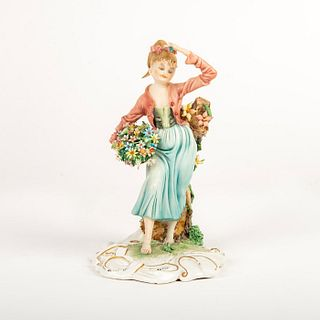 Tiziano Galli Lady Figurine, Spring