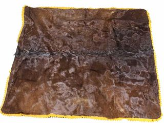Cownie Tanning Co. Horsehair Carriage Blanket