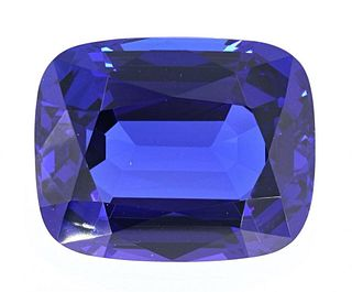 43.16 Tanzanite AAA+ Loose Stone w/ Papers