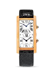 Cartier - Cartier Tank Cintrée Double Time Zone, '90s