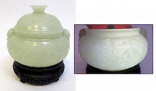 Qing Dynasty Lidded Bowl
