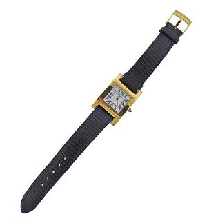 Chopard 18k Gold Quartz Watch 498250