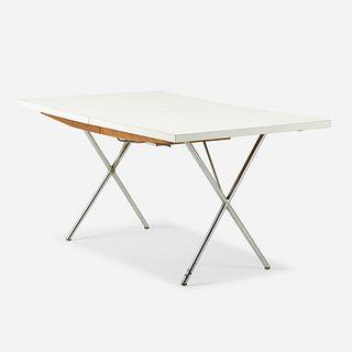 George Nelson & Associates, X-leg Extension table, model 5260