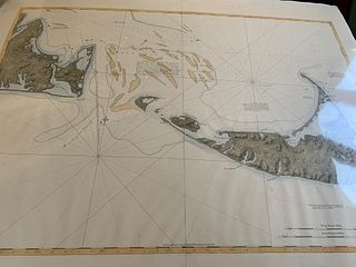DES BARRES CHART OF NANTUCKET
