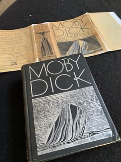MOBY DICK: ILLUSTRATED BY ROCKWELL KENT