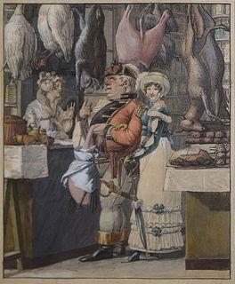 George Opitz - Chez le Boucher (Butcher)