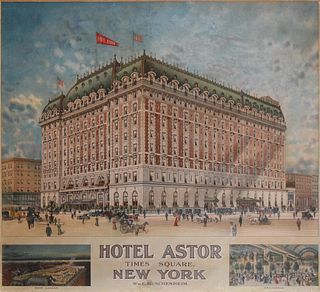 Unknown Artist - Hotel Astor Times Square New York