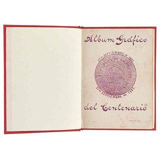 """Gallegos Liceaga, Vicente (Editor). Álbum Gráfico del Centenario. México: Impreso en los Talleres de """"El Hogar"""", 1921. Ilustrado."""