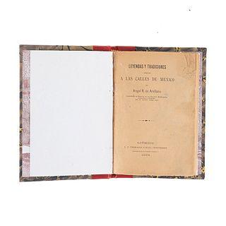 Arellano, Ángel R. Leyendas y Tradiciones Relativas a las Calles de México. México: J. J. Terrazas e Hijo, Impresores, 1894.