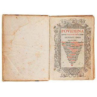 P. Ovidii Nasonis Fastorum Libri Diligenti Emendatione. Venetiis, 1520. Comentarios de Antonio Costanzo y Paolo Marso.