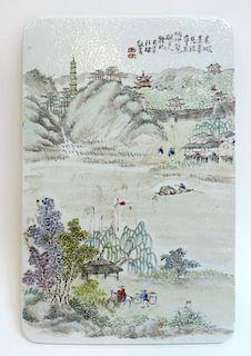 Porcelain Tile With Landscape