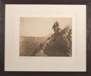 Edward Curtis - Pl 477 On the Shores of Clear Lake