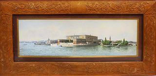 Anna Palm de Rosa (1859-1924) Swedish, W/C