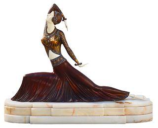 After DH Chiparus (1886-1947) Romanian, Sculpture