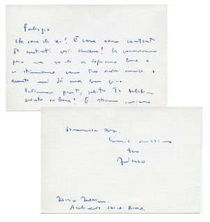 Fellini, Federico - Correspondence