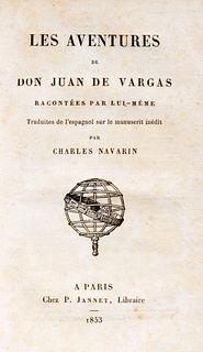 Ternaux-Compans, Henri - Les aventures de Don Juas de Vargas