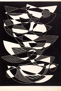 Concrete art. 10 original engravings by Salvatore
