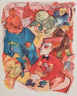 The lot has been withdrawn - Grosz, George - Ecce Homo