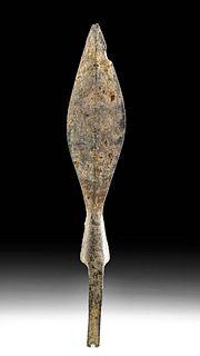 Medieval European Iron Spear Head