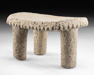 16th C. Costa Rican Huetar Stone Metate
