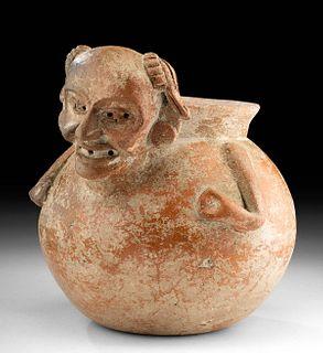 Teotihuacan Pottery Figural Olla
