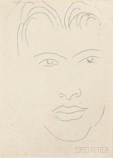 Henri Matisse (French, 1869-1954)      Massia au visage allongé