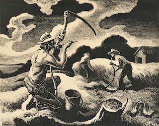 Thomas Hart Benton (American, 1889-1975)      Island Hay