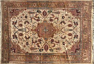 Indo Heriz Hand Woven Carpet