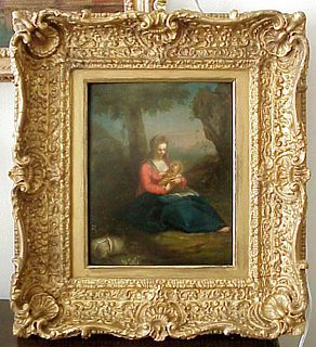 Old Master Madonna & Child, Balthazar Beschey, attrb , Flemish