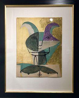 """Pablo Picasso: """"Faunes et Flores d'Antibes"""", 1960."""