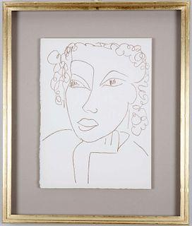 "Henri Matisse: Illustrations for ""Poesies Antillaises"", 1946. Price per framed print."