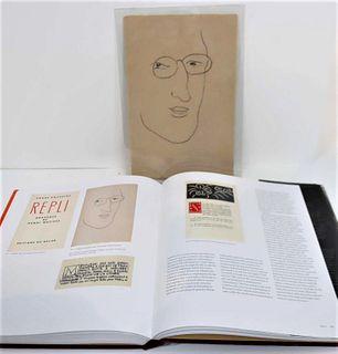Henri Matisse (1869-1954) Print Portrait & Book
