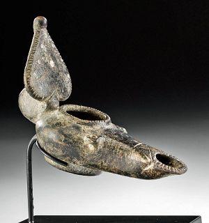 Holyland / Byzantine Bronze Oil Lamp