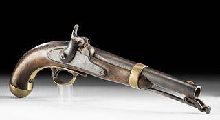 American Model 1842 Percussion Pistol, ca. 1853