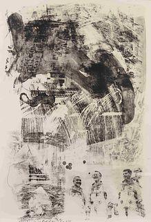 Robert Rauschenberg (American, 1925-2008) Brake (from Stoned Moon Series), 1969