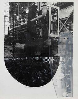 Robert Rauschenberg (American, 1925-2008) Tracks (from Stoned Moon Series), 1970