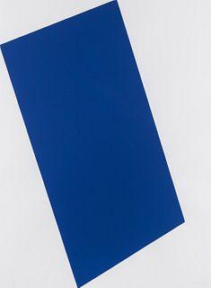 Ellsworth Kelly (American, 1923-2015) Blue (For Leo), (from The Leo Castelli 90th Birthday Portfolio), 1997