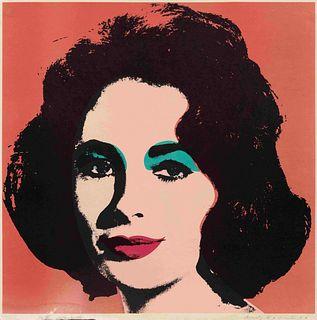 Andy Warhol (American, 1928-1987) Liz, 1964
