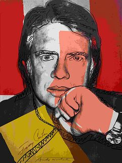 Andy Warhol (American, 1928-1987) Jimmy Carter I, 1976