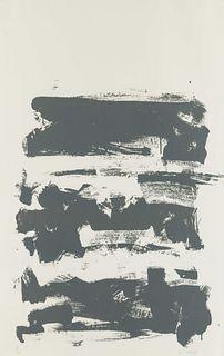 Joan Mitchell (American, 1925-1992) Champs (Grey), 1991-1992