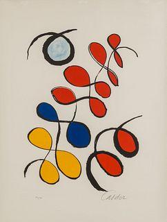 Alexander Calder (American, 1898-1976) Boules de couleurs