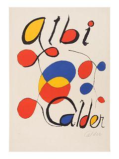 Alexander Calder (American, 1898-1976) Albi