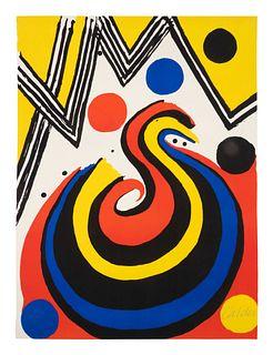 Alexander Calder (American, 1898-1976) La Vague (The Wave), 1971