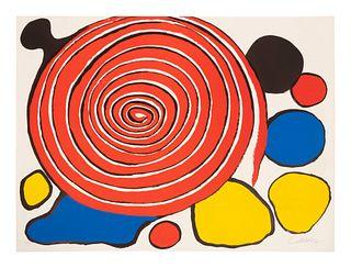 Alexander Calder (American, 1898-1976) Caracol, 1975