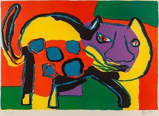Karel Appel (Dutch, 1921-2006) Cat, 1969
