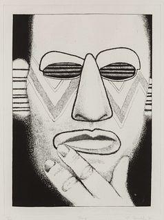 Ed Paschke (American, 1939-2004) Pump, 1989