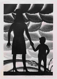 Roger Brown (American, 1941-1997) Mother and Child, 1986