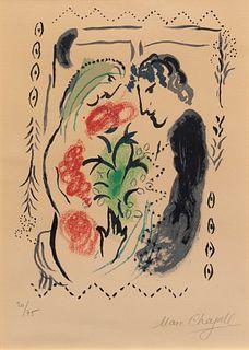 Marc Chagall (French/Russian, 1887-1985) Pour Berggruen, 1965