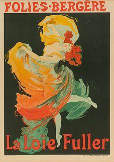 Jules Cheret  (French, 1836 - 1932) Folies-Bergere: La Loïe Fuller,1897
